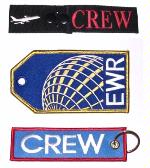 Embroidered Crew Tags