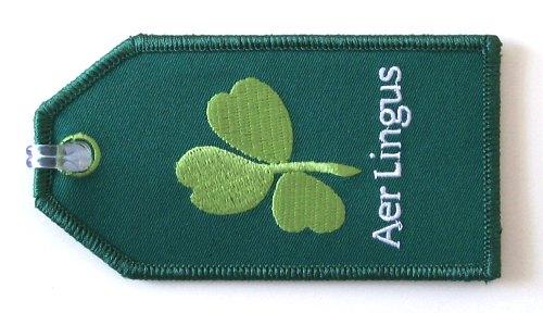 aer lingus embroidered luggage tag