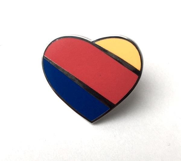 Southwest Heart Lapel Pin
