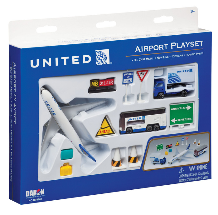 United Airlines Airport Playset The Flight Attendant Shop