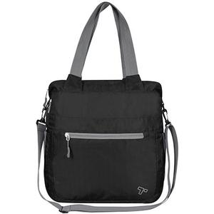 Travelon Packable Crossbody Tote - Black