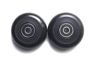 60MM Luggage Wheels - Black