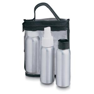 Lewis N. Clark Aluminum Bottle Set