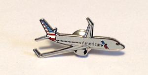 American Airlines 737-800 Lapel Pin