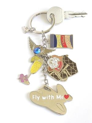 First Class Charms Key Ring