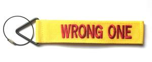 'TudeTags™ Wrong One Luggage Tag - Yellow/Red