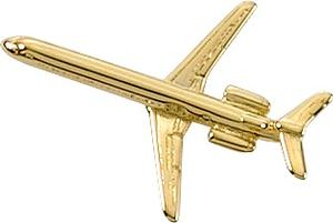 MD-80 Lapel Pin - Gold