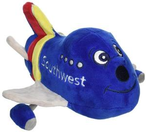 Southwest Airlines Plush Airplane with Sound