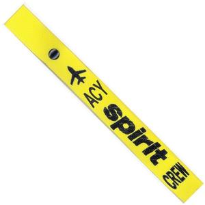 Spirit Airlines Crew Strap - Yellow - ACY