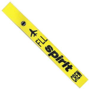 Spirit Airlines Crew Strap - Yellow - FLL