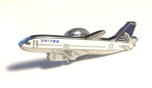 United Airlines A320 Lapel Pin