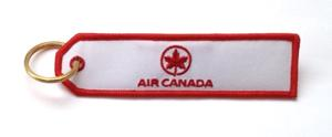 Air Canada Embroidered Key Ring Banner