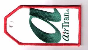 Air Tran Embroidered Luggage Tag