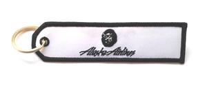 Alaska Airlines Embroidered Key Ring Banner