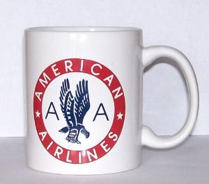 American Airlines 50s Eagle Coffee Mug