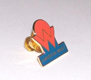 America West Lapel Pin