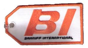 Braniff Embroidered Luggage Tag