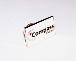 Compass Airlines Lapel Pin