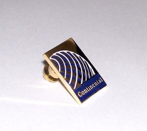 Continental Airlines Lapel Pin