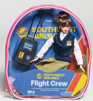 Southwest Airlines Flight Attendant Doll - Brunette