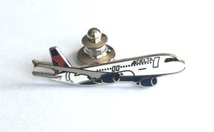 Delta Air Lines A320 Lapel Pin