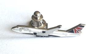 Delta Air Lines 747 Lapel Pin