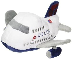 Delta Air Lines Plush Airplane with Sound