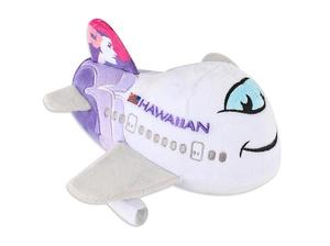 Hawaiian Airlines Plush Airplane with Sound