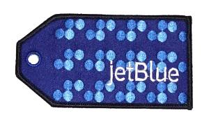 jetBlue Embroidered Luggage Tag