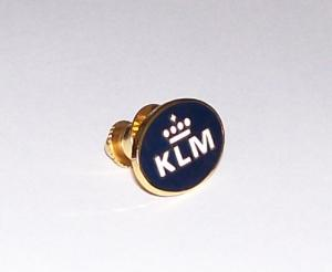 KLM Airlines Lapel Pin