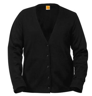 Ladies Black Cardigan