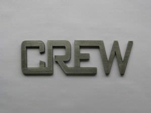 Metal CREW Identification Tag