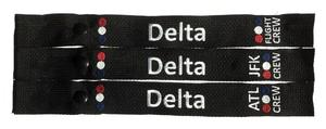 Delta Crew Snap-On Luggage Strap - Choose Your Base