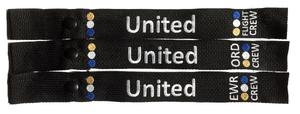 United Crew Snap-On Luggage Strap - Choose Your Base
