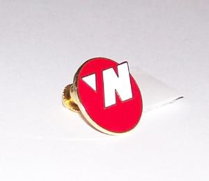 Northwest Airlines 90s Circle Lapel Pin