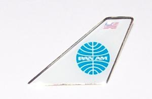 Pan Am Airlines Tail Pin