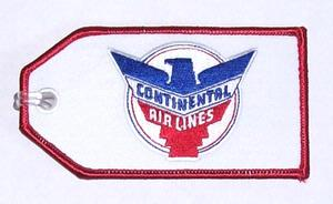 Continental Retro Embroidered Luggage Tag