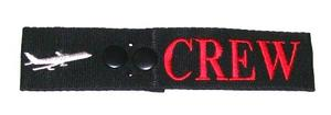 Secure Embroidered Crew Strap