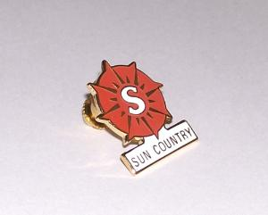 Sun Country Lapel Pin
