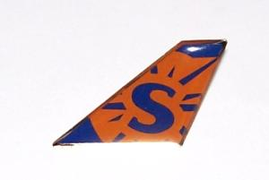 Sun Country Airlines Tail Pin