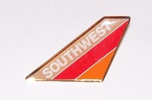 Southwest Airlines (90s) Tail Pin