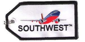 Southwest Airlines Embroidered Luggage Tag