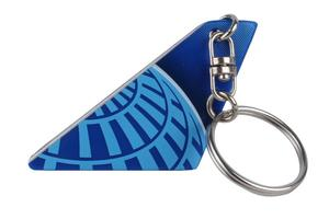 United Airlines 2019 Tail Key Chain