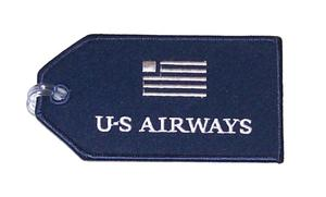 US Airways Embroidered Luggage Tag
