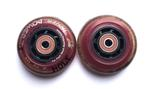 72MM In-Line Skate Wheels - Maroon