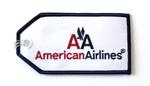 American Airlines Embroidered Luggage Tag