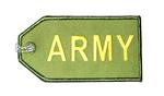 Army Embroidered Luggage Tag