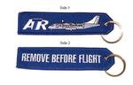 RBF/ATR Embroidered Key Ring Banner