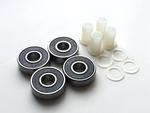 Skate Wheel Bearings and Bushings 4-Pack