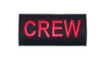 Crew Handle Wrap - Red on Black